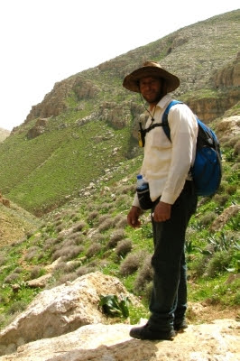 Ben walked with Habib, a long-time guide on the Abraham Path in the Palestine.