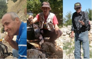 Abu Ibrahim, Eisa and Mahmoud: three Musketeers of Ajloun