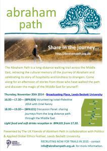Abraham Path - Project celebration