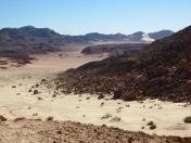 View over the Sinai mountains